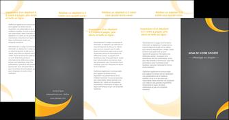 modele depliant 4 volets  8 pages  texture contexture structure MLIG54897
