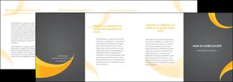 personnaliser maquette depliant 4 volets  8 pages  texture contexture structure MIF54899