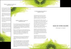 faire depliant 3 volets  6 pages  texture contexture structure MLGI55025