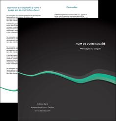 imprimer depliant 2 volets  4 pages  texture contexture structure MIF55189