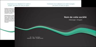 modele depliant 2 volets  4 pages  texture contexture structure MIF55191