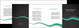 faire depliant 4 volets  8 pages  texture contexture structure MIF55203