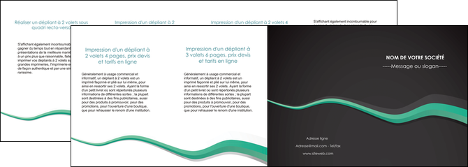 realiser depliant 4 volets  8 pages  texture contexture structure MLGI55209