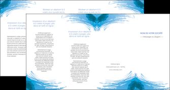 modele depliant 4 volets  8 pages  texture structure contexture MLGI55225