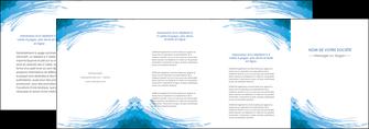 faire modele a imprimer depliant 4 volets  8 pages  texture structure contexture MLGI55227