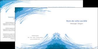 personnaliser maquette depliant 2 volets  4 pages  texture structure contexture MLGI55239