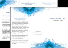 faire depliant 3 volets  6 pages  texture structure contexture MLGI55243