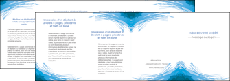 imprimer depliant 4 volets  8 pages  texture structure contexture MLGI55271