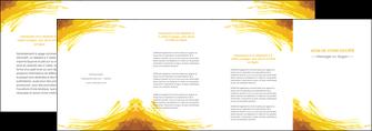 faire modele a imprimer depliant 4 volets  8 pages  texture structure contexture MIF55279