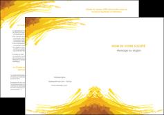 modele depliant 2 volets  4 pages  texture structure contexture MIF55281