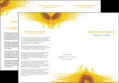 modele en ligne depliant 3 volets  6 pages  texture structure contexture MIF55295