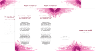 creation graphique en ligne depliant 4 volets  8 pages  texture contexture structure MIF55389
