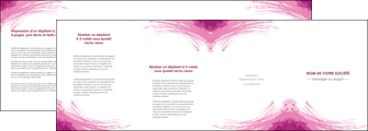 modele depliant 4 volets  8 pages  texture contexture structure MLIG55391