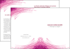 creation graphique en ligne depliant 2 volets  4 pages  texture contexture structure MLIG55395