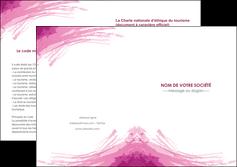 creation graphique en ligne depliant 2 volets  4 pages  texture contexture structure MLIG55395