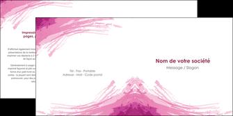 modele depliant 2 volets  4 pages  texture contexture structure MLGI55403