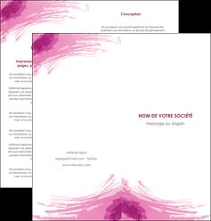 creation graphique en ligne depliant 2 volets  4 pages  texture contexture structure MLIG55405