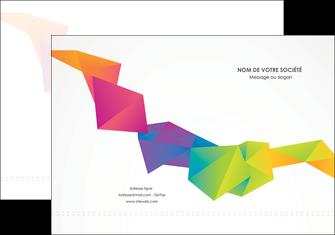 creer modele en ligne pochette a rabat texture contexture structure MIF55451