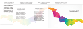 maquette en ligne a personnaliser depliant 4 volets  8 pages  texture contexture structure MIF55481