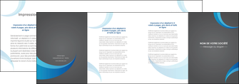 impression depliant 4 volets  8 pages  texture contexture structure MIF55495