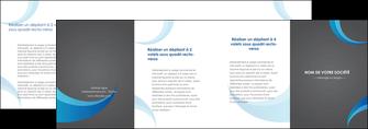 impression depliant 4 volets  8 pages  texture contexture structure MIF55541