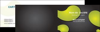 Commander cartes de visite impression vernis selectif  Carte commerciale de fidélité modèle graphique pour devis d'imprimeur Carte de visite Double - Paysage