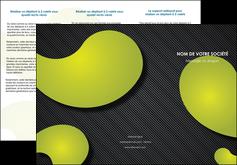 modele en ligne depliant 3 volets  6 pages  texture contexture structure MLIG55621