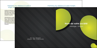 maquette en ligne a personnaliser depliant 2 volets  4 pages  texture contexture structure MLIG55625