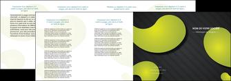 personnaliser modele de depliant 4 volets  8 pages  texture contexture structure MLIG55637