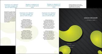modele en ligne depliant 4 volets  8 pages  texture contexture structure MLIG55641