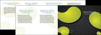 impression depliant 4 volets  8 pages  texture contexture structure MIF55643