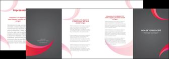 exemple depliant 4 volets  8 pages  texture contexture structure MLIG55703