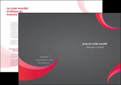 imprimerie depliant 2 volets  4 pages  texture contexture structure MIF55705