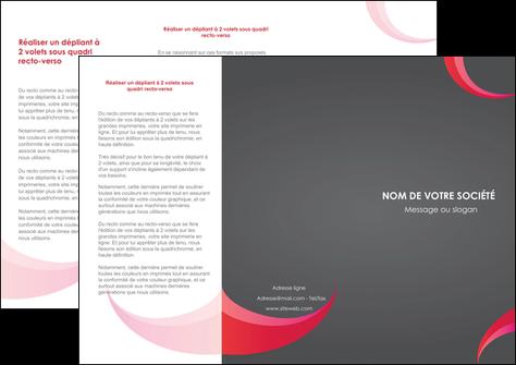 imprimer depliant 3 volets  6 pages  texture contexture structure MLGI55719