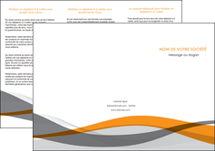 realiser depliant 3 volets  6 pages  texture contexture structure MLGI55785
