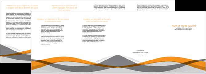cree depliant 4 volets  8 pages  texture contexture structure MLGI55803