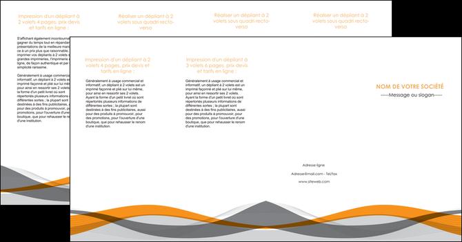 cree depliant 4 volets  8 pages  texture contexture structure MLGI55807