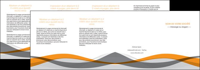 personnaliser modele de depliant 4 volets  8 pages  texture contexture structure MLGI55809