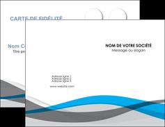 Impression carte de visite pelliculage mat  Carte commerciale de fidélité carte-de-visite-pelliculage-mat Carte de visite Double - Portrait