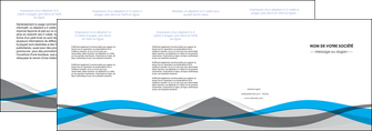 modele depliant 4 volets  8 pages  texture contexture structure MLIG55857