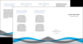 creation graphique en ligne depliant 4 volets  8 pages  texture contexture structure MIF55861