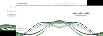 modele en ligne depliant 2 volets  4 pages  texture contexture structure MLGI55893