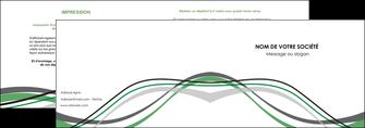 imprimerie depliant 2 volets  4 pages  texture contexture structure MIF55895