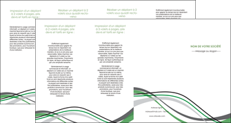 exemple depliant 4 volets  8 pages  texture contexture structure MIF55913