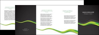 personnaliser modele de depliant 4 volets  8 pages  texture contexture structure MLIGBE56135