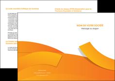 imprimerie depliant 2 volets  4 pages  texture contexture structure MLGI56159