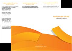 faire modele a imprimer depliant 3 volets  6 pages  texture contexture structure MLGI56179