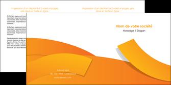 imprimerie depliant 2 volets  4 pages  texture contexture structure MLGI56183