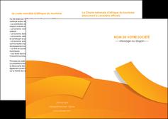 maquette en ligne a personnaliser depliant 2 volets  4 pages  texture contexture structure MLGI56193