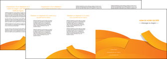 imprimer depliant 4 volets  8 pages  texture contexture structure MLGI56197